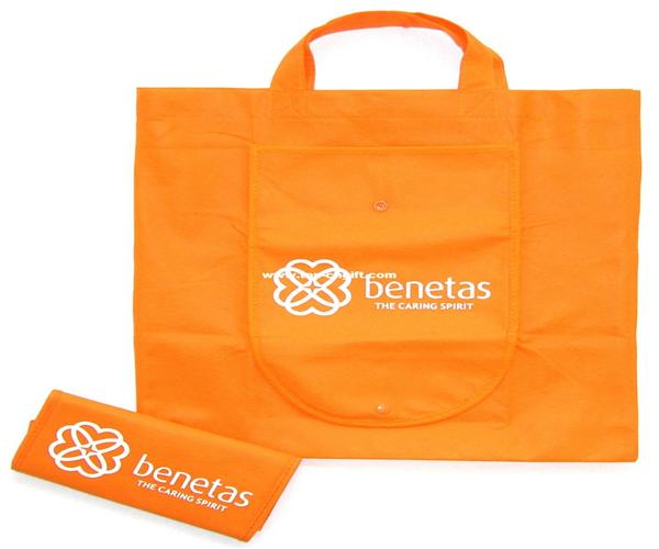 floded non-woven bags