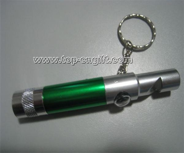 Metal Whistle Keychain