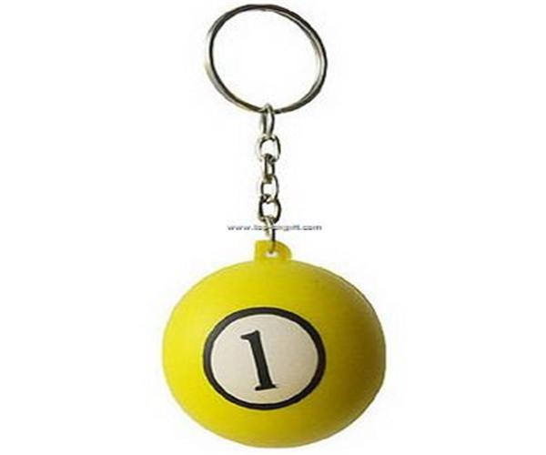 Billiards keychain