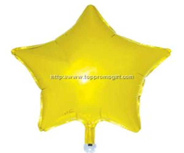 Mylar Balloon--Star shaped
