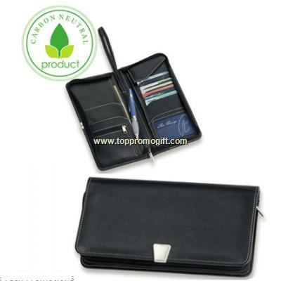 Nappa Leather Travel Wallet