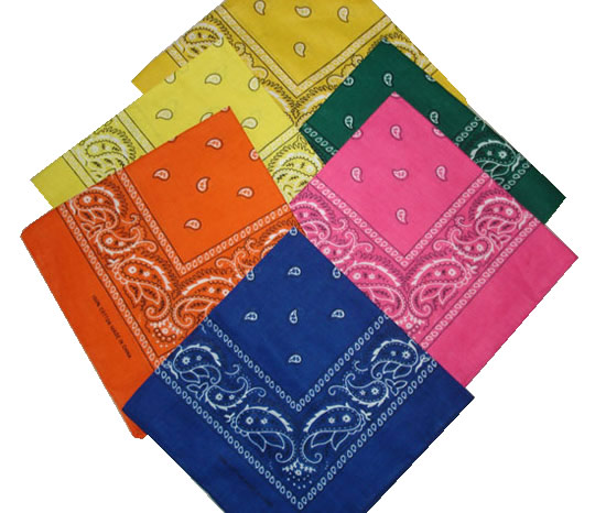 Wholesale Open Center Paisley Bandanas,FOB china US$0.4-0.8/pc| well ...