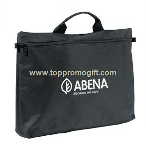 Zippered Document Bag With Handle