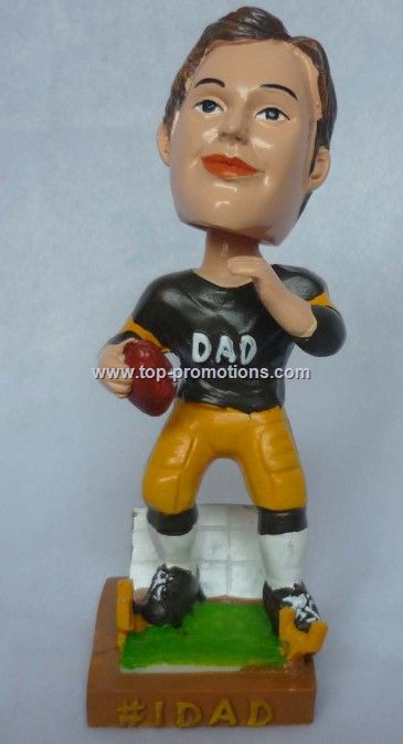 Baseball player bobble head doll