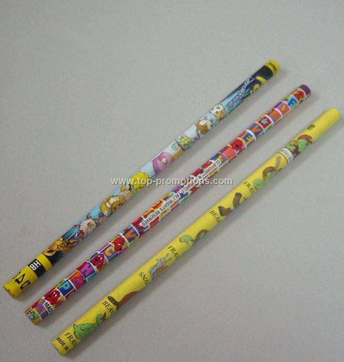 Round Wooden Pencils