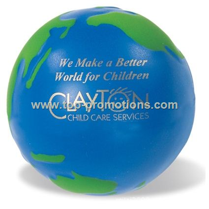 Globe PU Stress ball