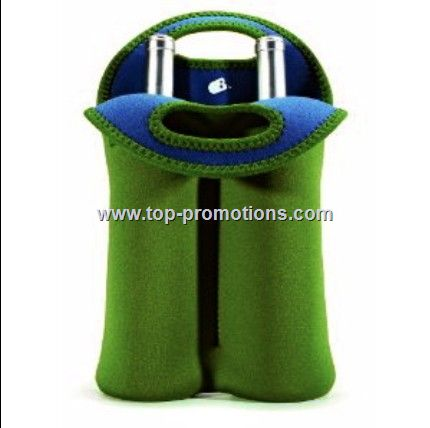 BUILT NY TWO WINE BOTTLE INSULATED TOTE