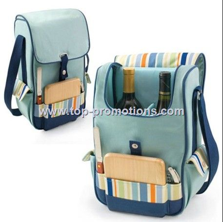 Picnic Time Duet Insulated Wine and Cheese Picnic