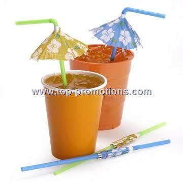 Parasol Drinking Straws