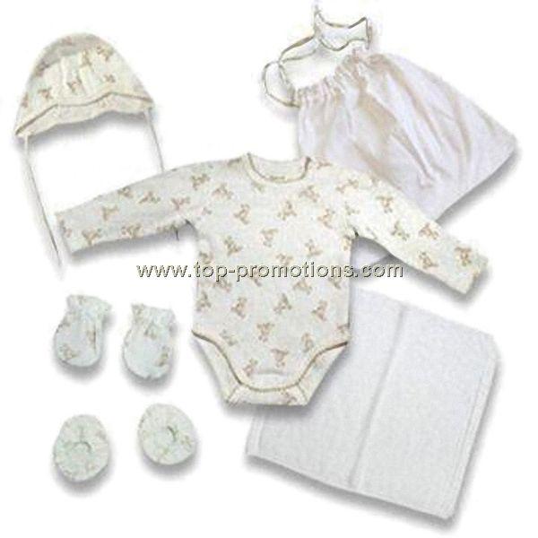 Organic Cotton Baby Gift Set Woth