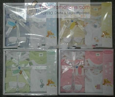 Baby Gift Set Includes Blanket, Gloves, Shoes and