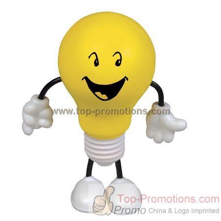 Light Bulb Figure Stress Balls
