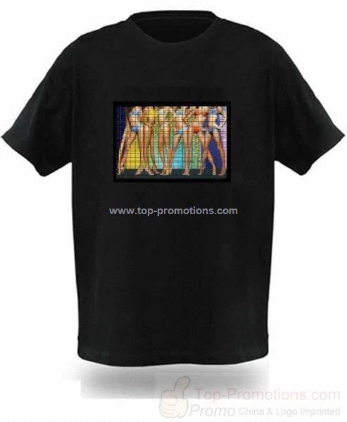 Light up Equalizer T-shirt