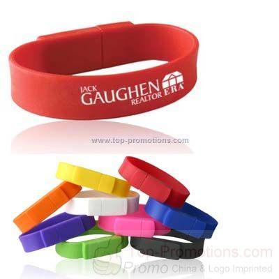 Flash Drive Wristband Memory Stick