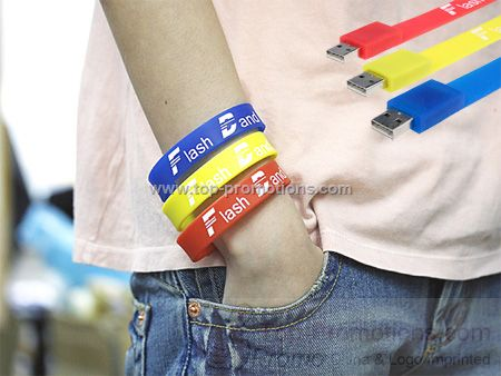 Cool Wristband USB Drive