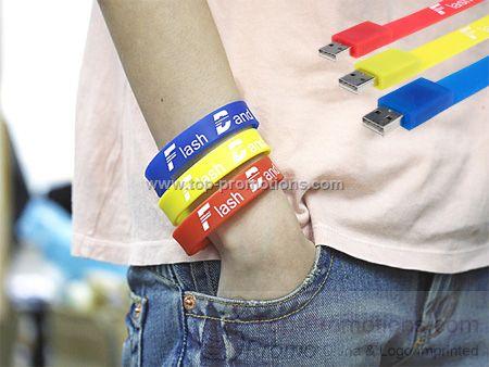 Cool Wristband USB Drive