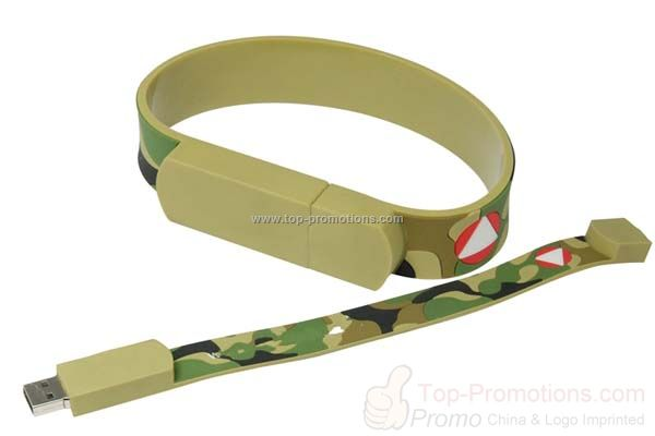Army Wristband USB flash drive