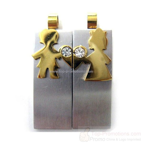 2 pcs of Jewelry USB flash drive
