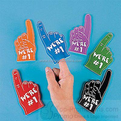 Mini Foam Fingers - Assorted