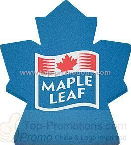 Maple Leaf Foam Mitt