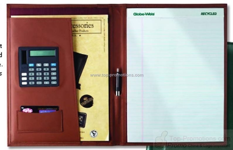 Business portfolio with credit card calculator and