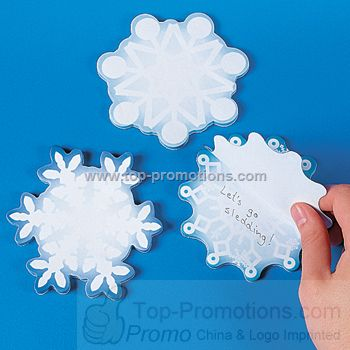 Snowflake Sticky Notes