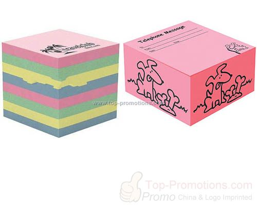 COLOURED STICKY NOTE BLOCKS