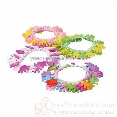 Hand clapper bracelets