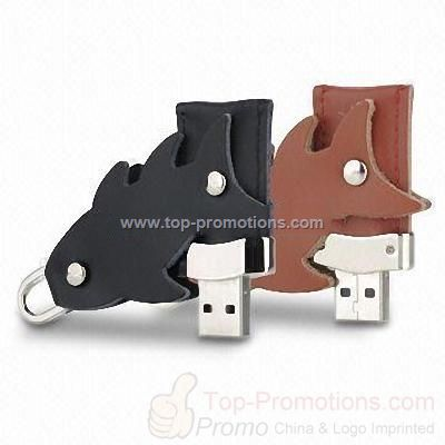 Leather Fish-shaped USB Drives