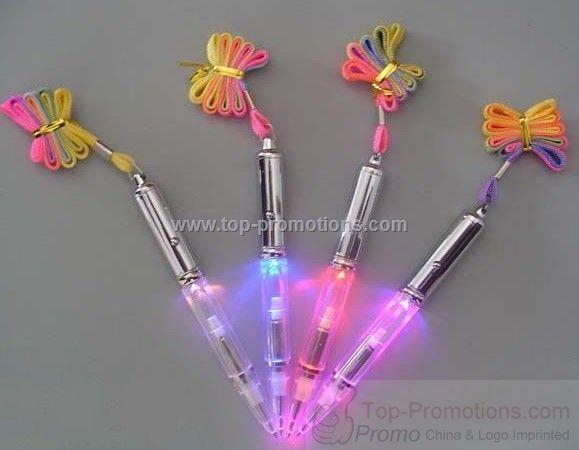 Promotion gift Flash lighting pen