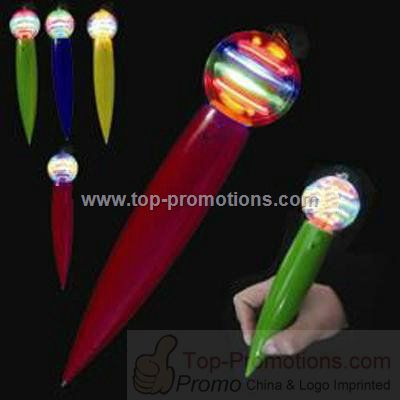 Flash Spinning Ball Pen