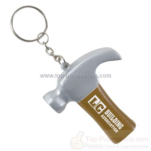 Hammer Keychain Stress Ball