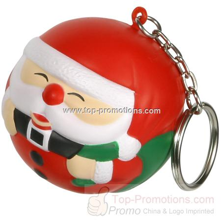 Santa Claus Stress Reliever Key chain