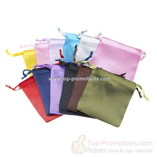 Satin-Weave Pouch Color Assortment