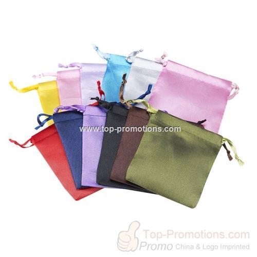 Satin-Weave Pouch Color Assortment