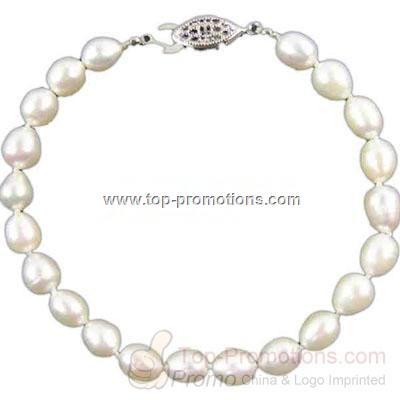 South Sea black rainbow pearl bracelet