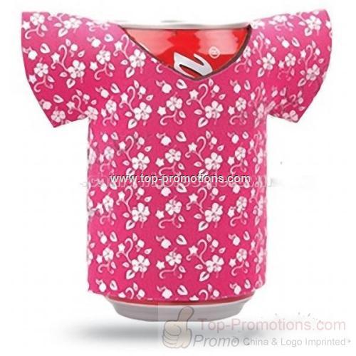 Beer Bottle Cooler-T-shirt Shaped
