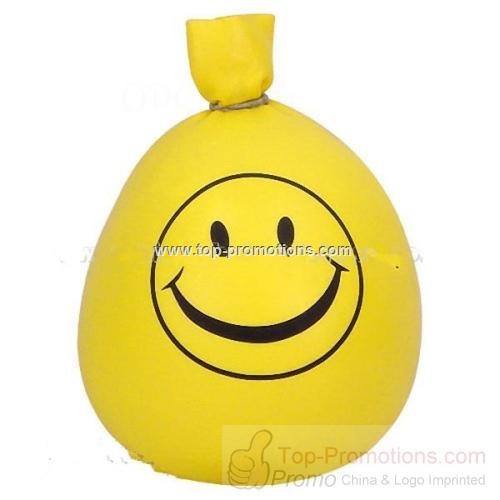 Smiley Face Isoflex Stress Ball