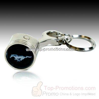 Ford Mustang Piston Key Chain