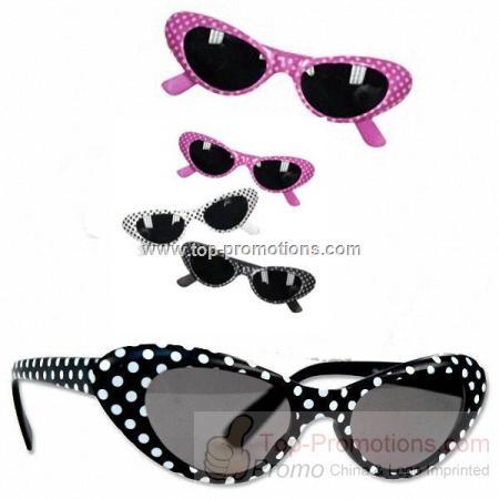 Polka Dot Funky Sunglasses