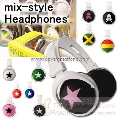 Mix-Style Stereo Headphones in Box