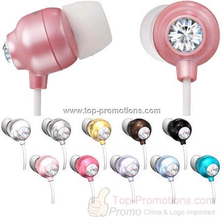 Crystal Jewelry Earphone Introduced