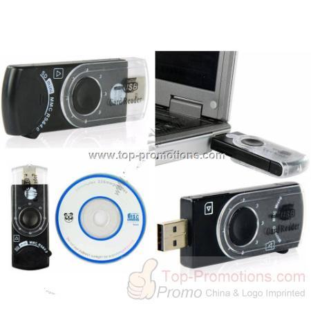 USB 2.0 SIM Card & SD/MMC Memory Card Reader