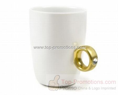 Porcelain Ring Mug