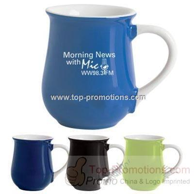 DISCONTINUED 12 Oz. Cafe Mug