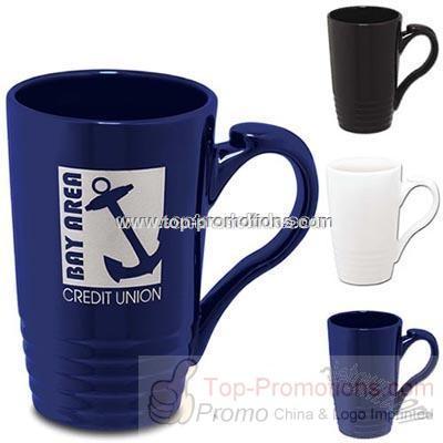 Ceramic Ridged Mug