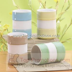 Silicone Band Tea Mugs