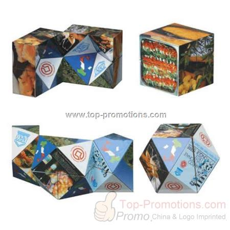 Custom diamond shaped puzzle