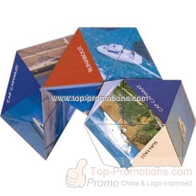 Diamond cube puzzle