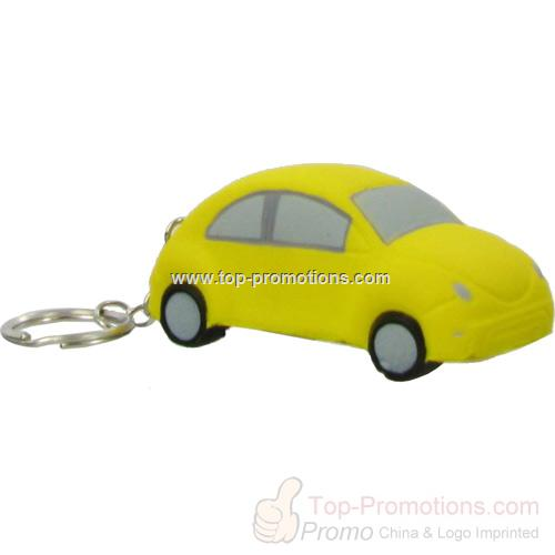 Car Key Chain Stress Ball-Economy
